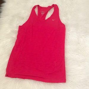 Nike Hot Pink Tank Size Small